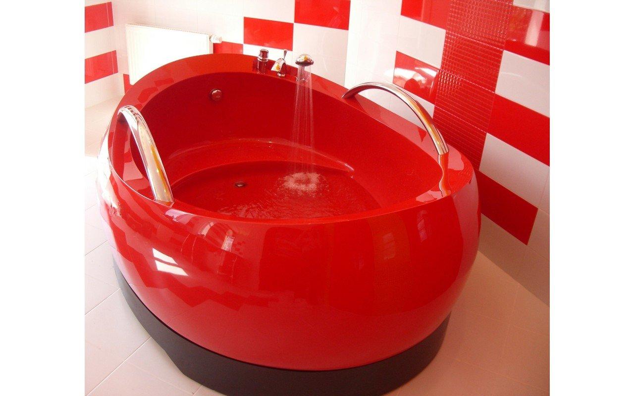 Vasca da bagno indipendente admireme di aquatica in pietra - Vasca da bagno in pietra ...