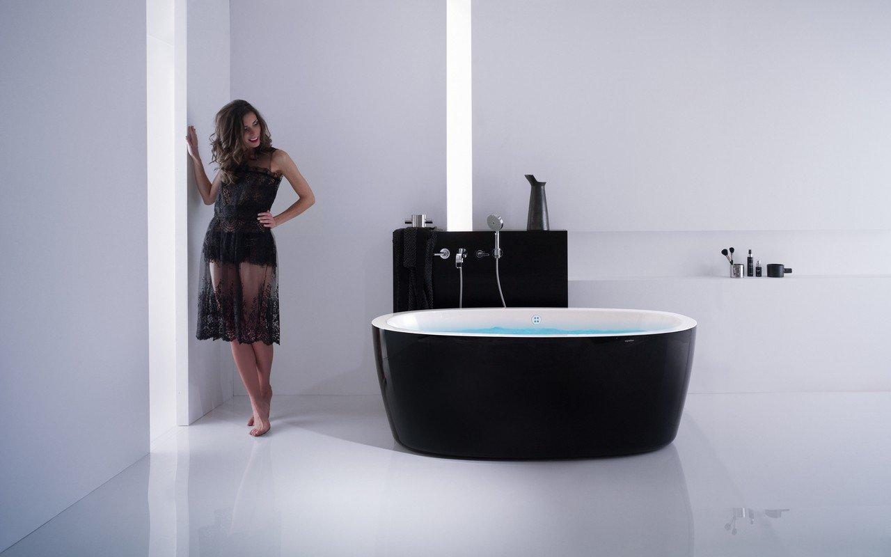 Vasca Da Bagno E Ciclo : Aquatica purescape 174a blck wht relax vasca da bagno con idromassaggio
