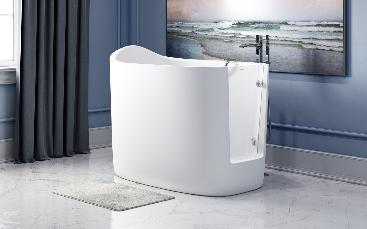 Aquatica Baby Boomer 2 vasca da bagno freestanding con apertura picture № 0