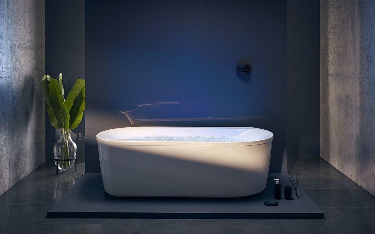Vasca Da Bagno Freestanding Polaris : Aquatica purescape™ wht hydrorelax pro vasca da bagno con