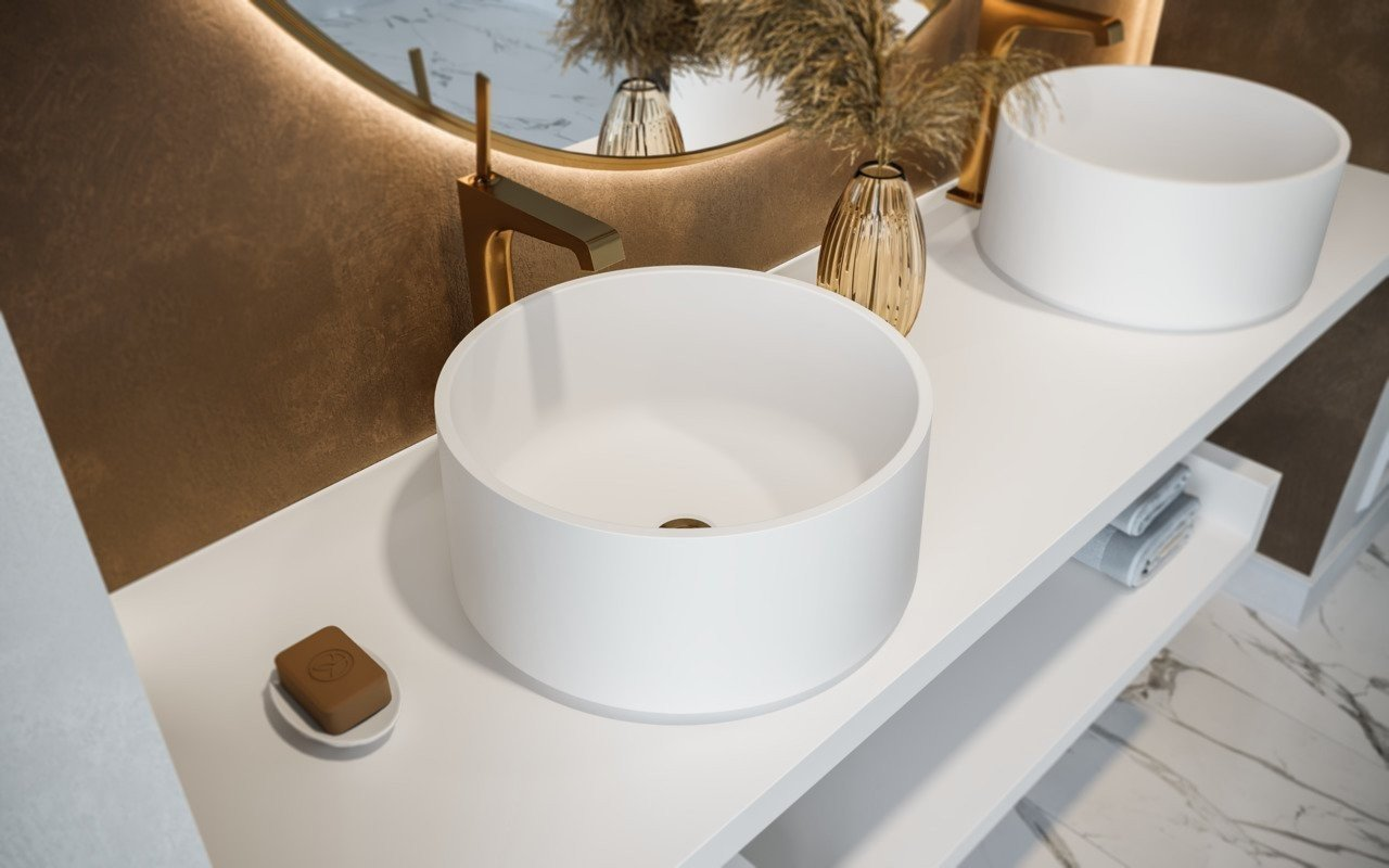 Aquatica Solace B Wht Round Stone Bathroom Vessel Sink 01 (web)