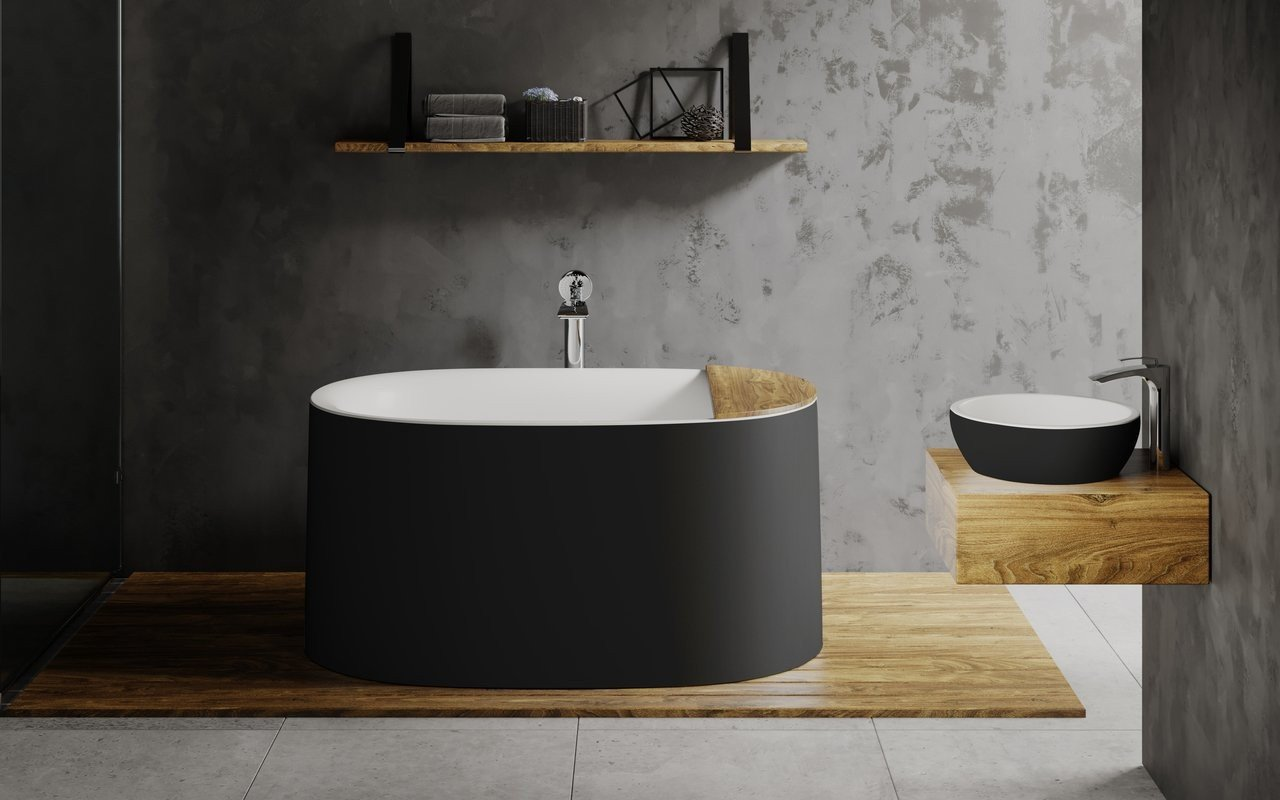 Aquatica Sophia Blck Wht Freestanding Solid Surface Bathtub 01 (web)