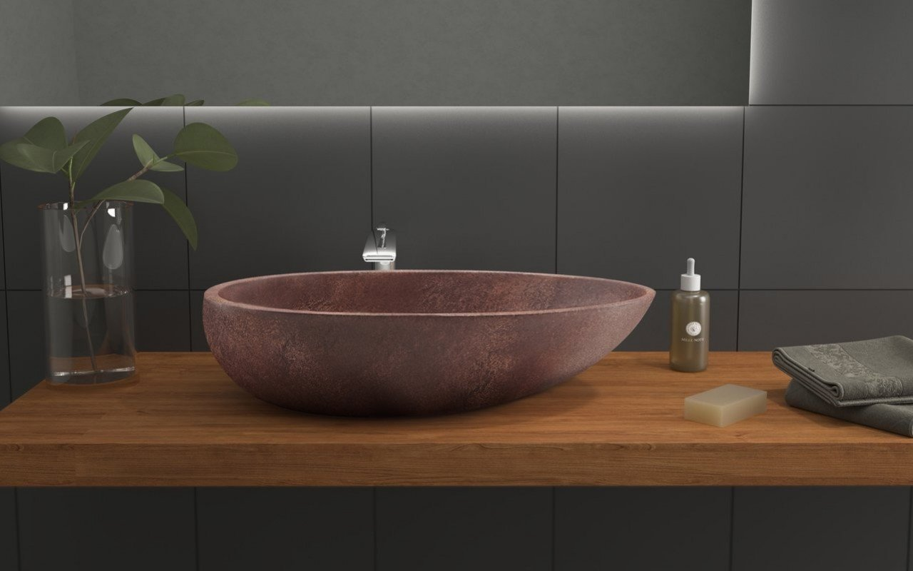 Aquatica Spoon Brnz Stone Vessel Sink 2 (web)