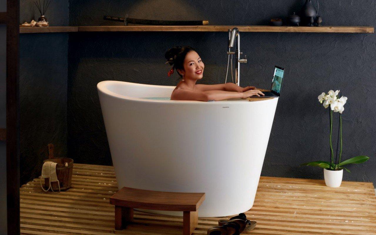 Vasca giapponese True Ofuro Tranquility di Aquatica con Riscaldamento picture № 0