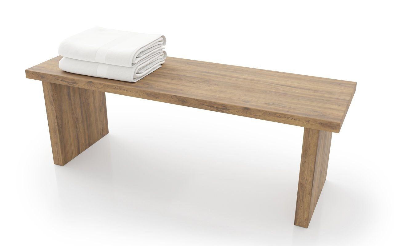 Aquatica Universal Waterproof Teak Bathroom Bench 01 (web)