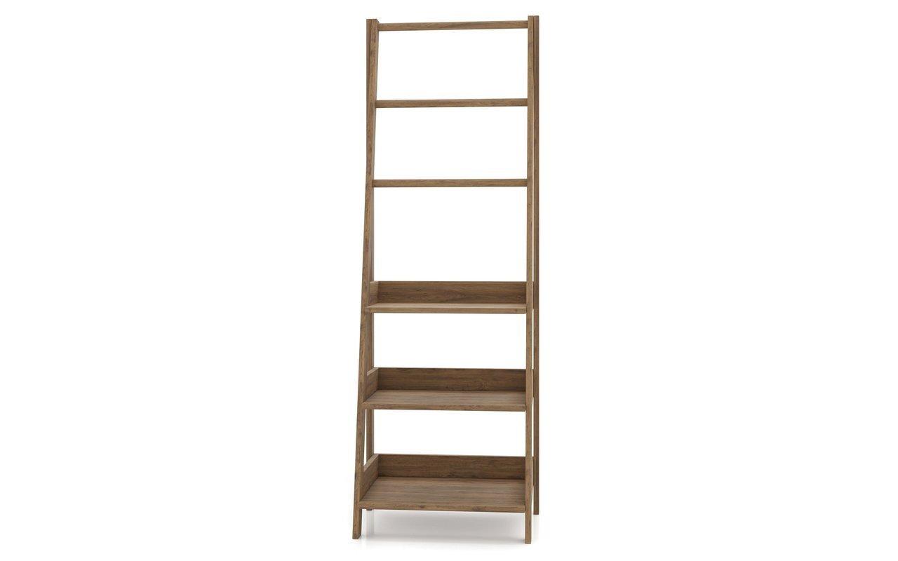Aquatica Universal Waterproof Teak Bathroom Ladder Shelf 01 (web)