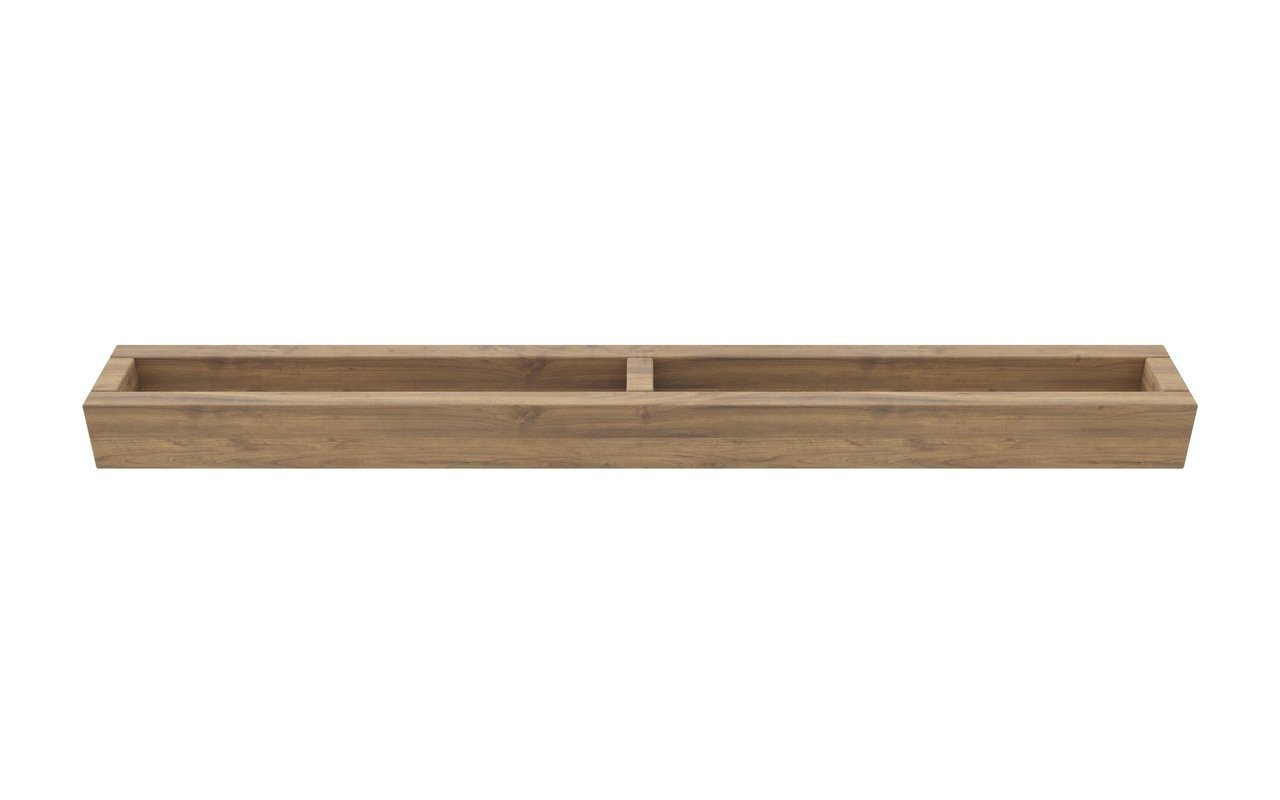 Aquatica Universal Waterproof Wall Mounted Teak Towel Rack 02 (web)