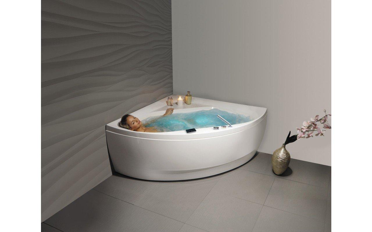 Bordo Vasca Da Spa : Aquatica olivia wht hydrorelax vasca da bagno con idromassaggio