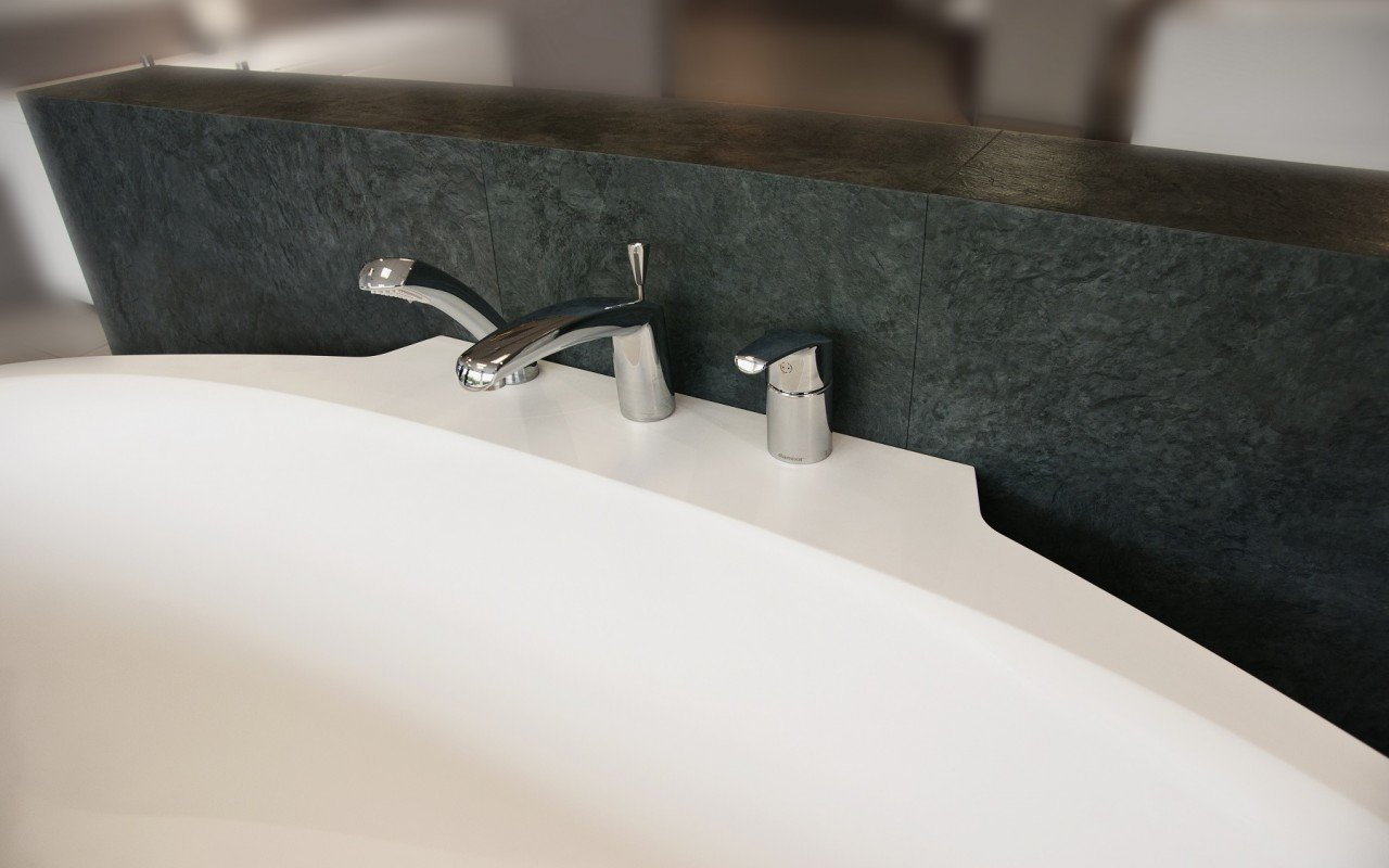 Aquatica sensuality mini wall back to wall solid surface bathtub 4 web
