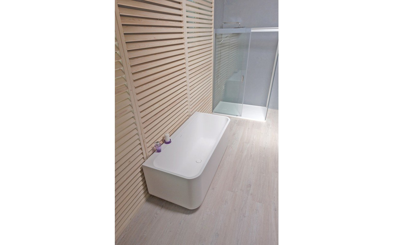 Aquatica sincera wht back to wall freestanding solid surface bathtub web 02