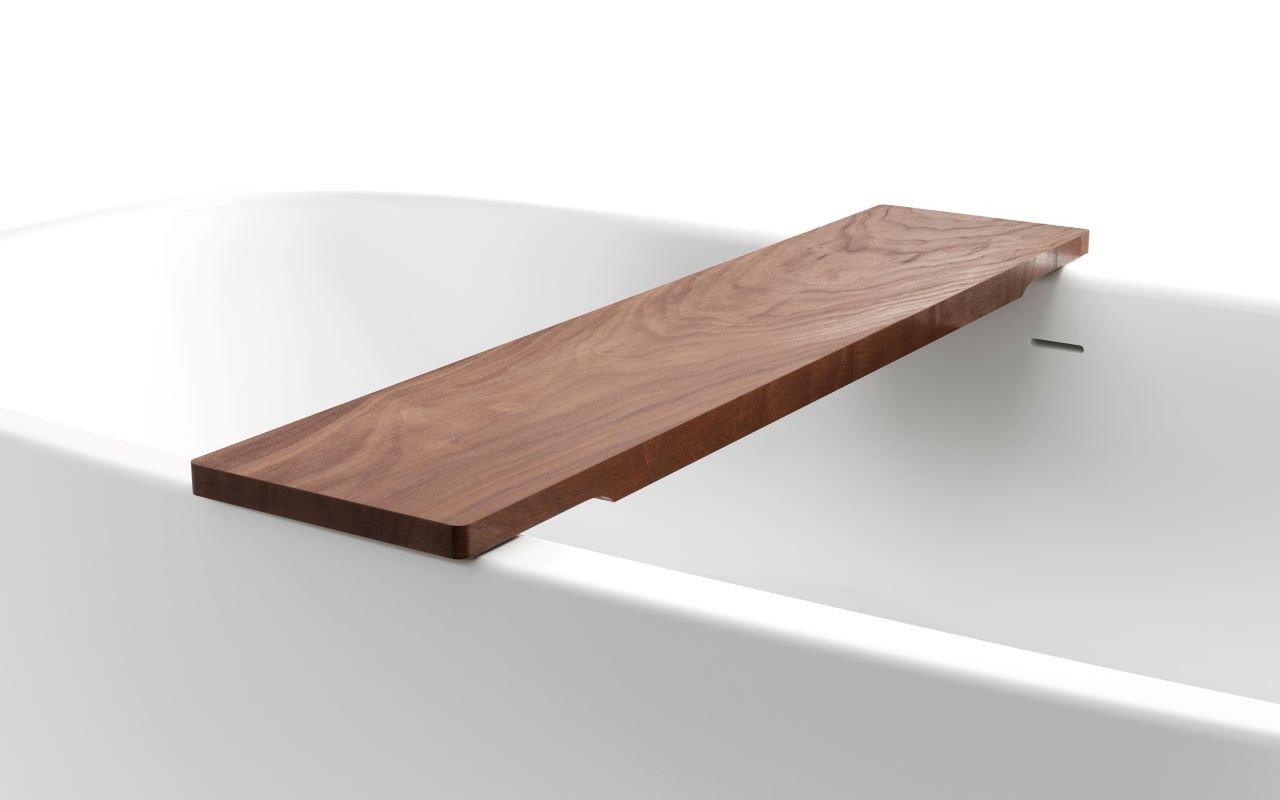 Universal di Aquatica – Mensola in legno Noce americanoimpermeabile per vasca da bagno picture № 0