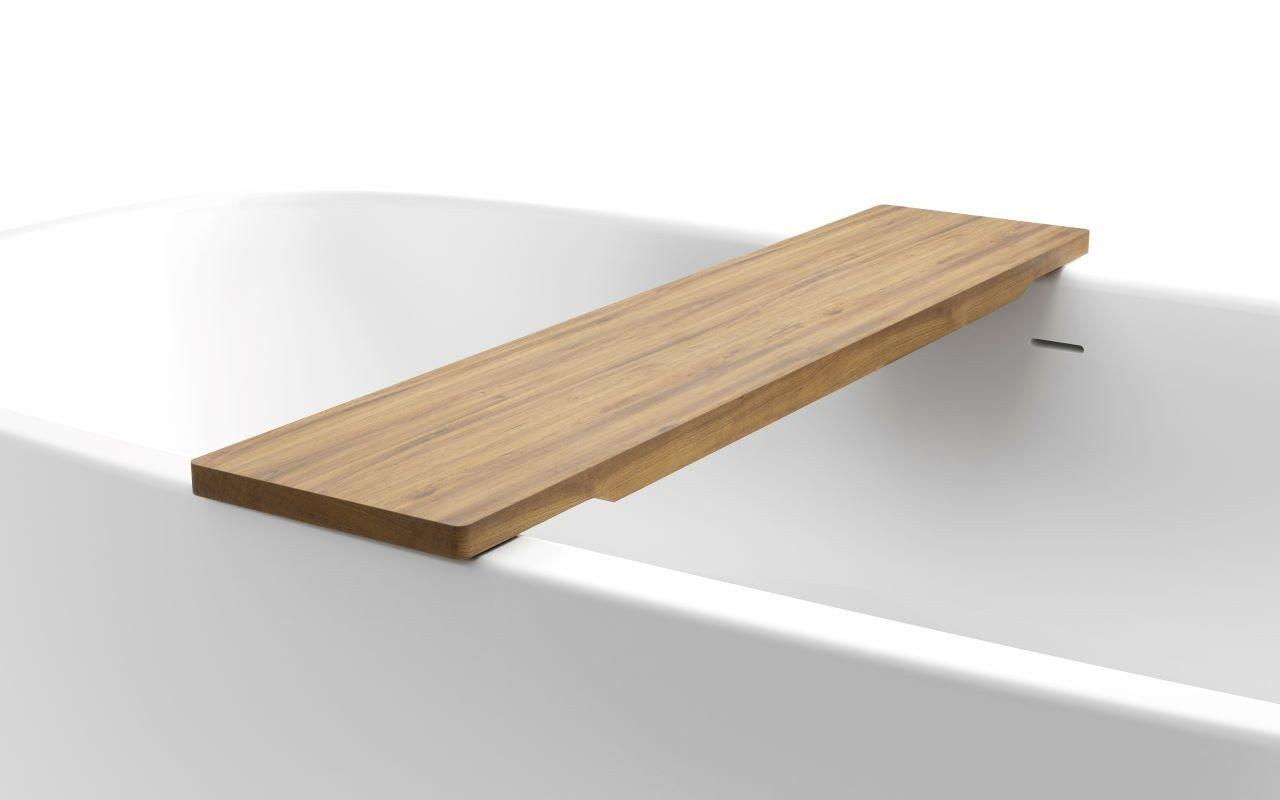 Universal di Aquatica – Mensola in Teak impermeabile per vasca da bagno picture № 0