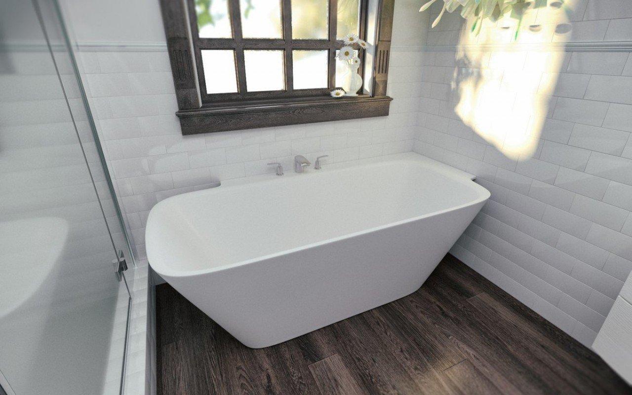 Vasca Da Bagno Freestanding Polaris : Arabella l wht™ la vasca da bagno ad angolo di aquatica in pietra