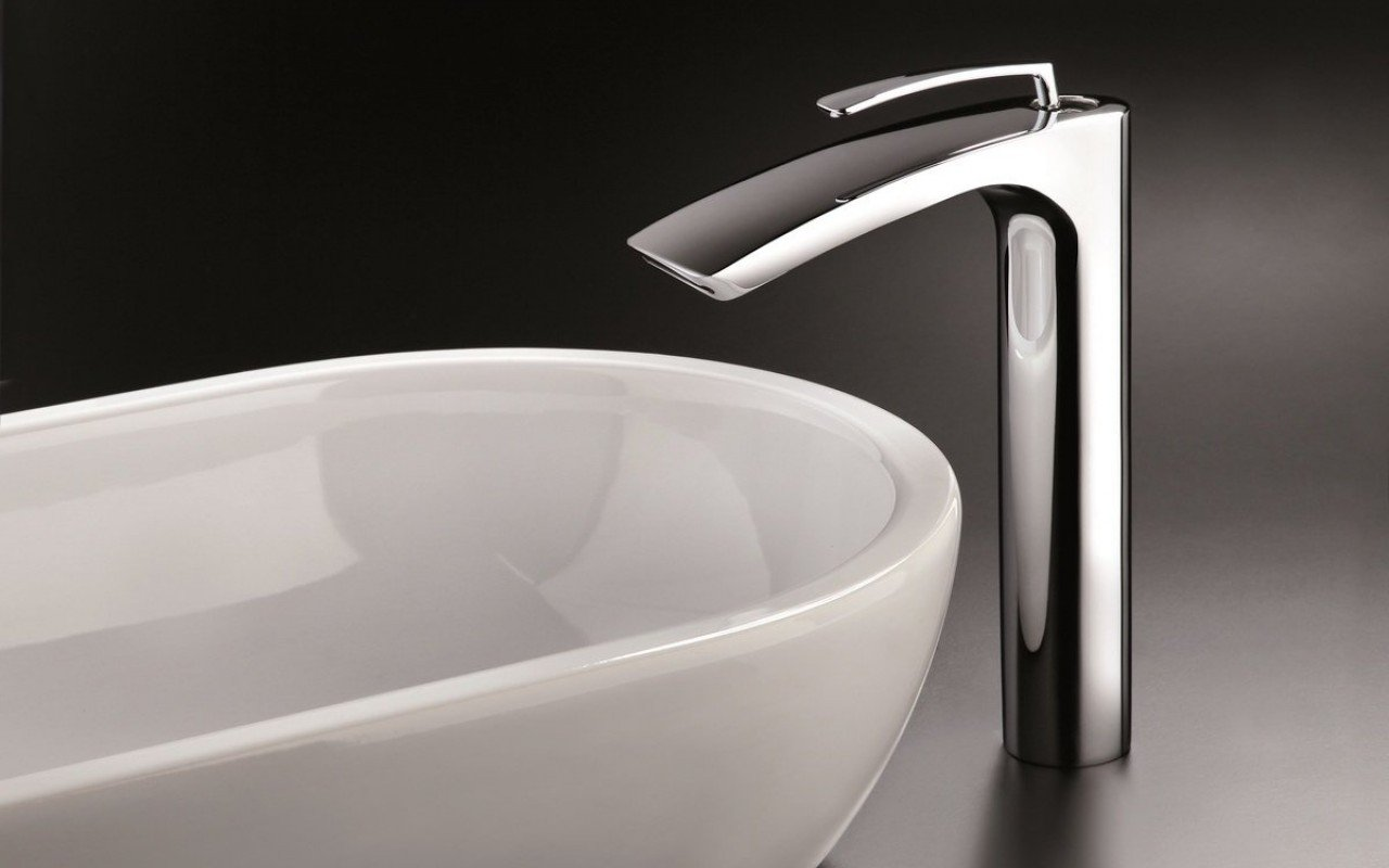"""Aquatica Bollicine 8.5"""" (SKU-228) Rubinetteria per lavabo cromata picture № 0"""