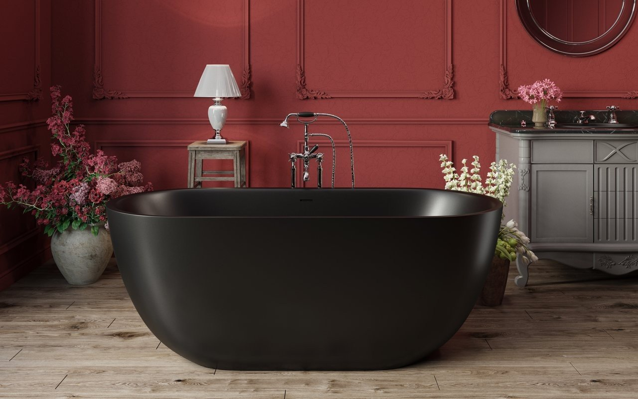 Corelia Black Freestanding Stone Bathtub 1 (web)
