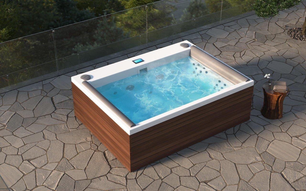 Nexus Spa con pannelli in legno Thermory di Aquatica (220V/50Hz) picture № 0