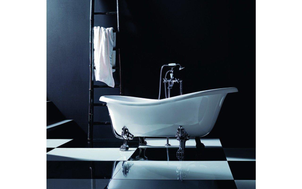 Vasca Da Bagno Freestanding Polaris : Iliad wht vasca da bagno freestanding in acrilico