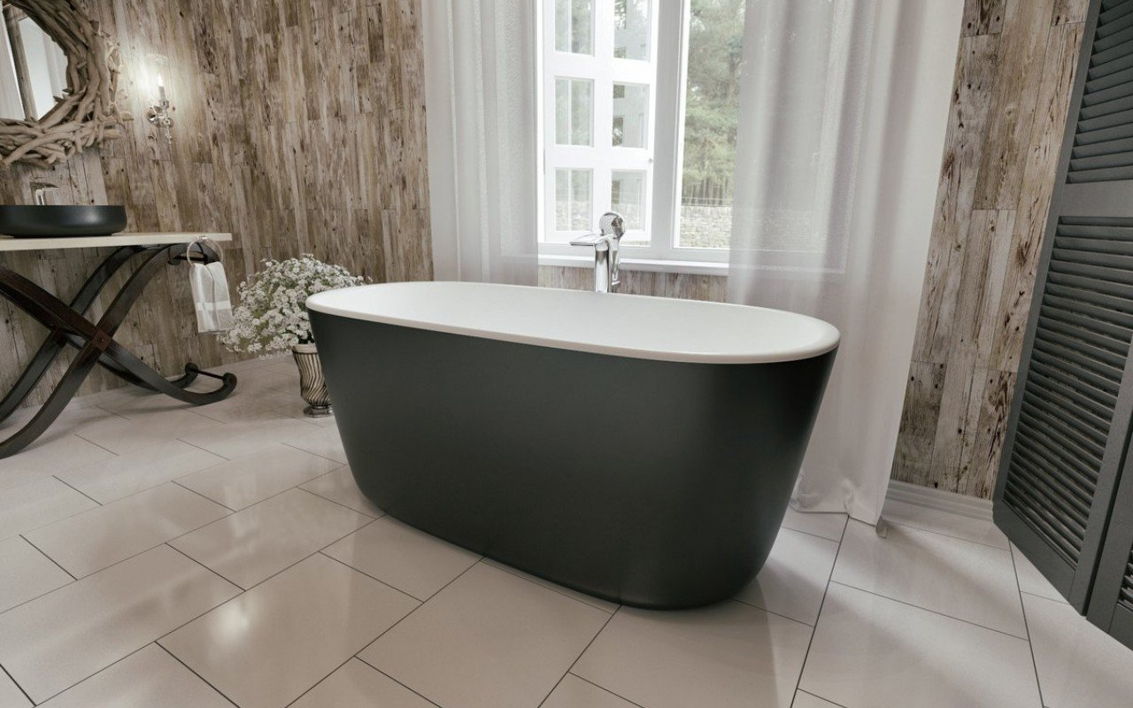 Vasca Da Bagno Freestanding Piccola : Lullaby mini blck la piccola vasca da bagno freestanding di
