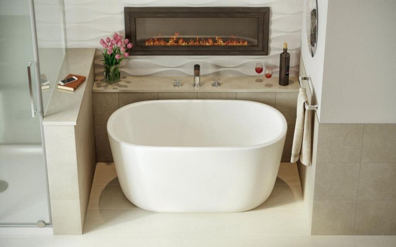 Vasca Da Bagno Bassa : Lullaby nano wht la piccola vasca da bagno freestanding di