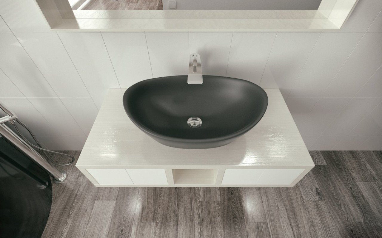 Luna Black Stone Lavatory by Aquatica (2) (web)