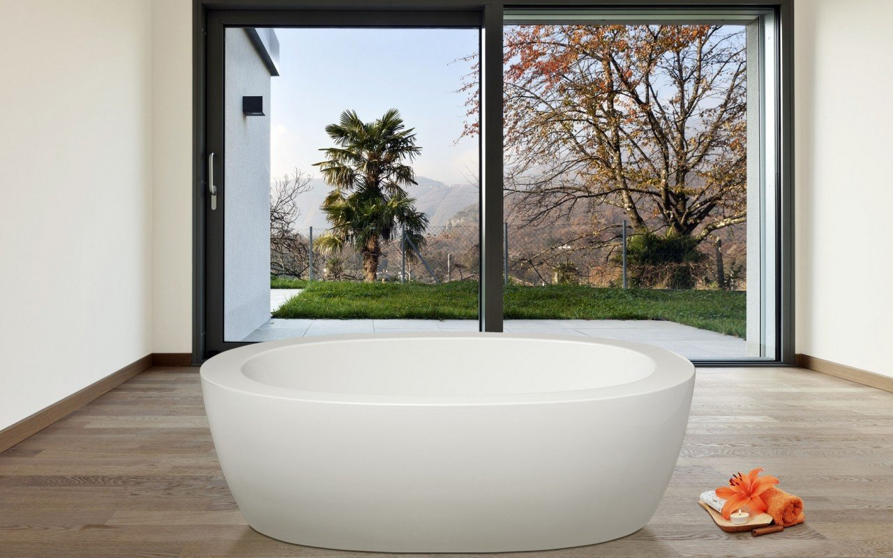 PureScape 174 Freestanding Acrylic Bathtub 5 web