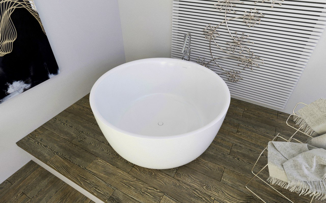 Purescape 720 Freestanding Solid Surface Bathtub (3)
