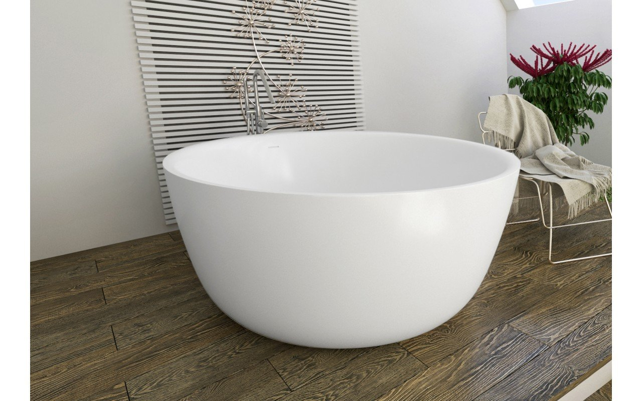 Purescape 720 Freestanding Solid Surface Bathtub (6)