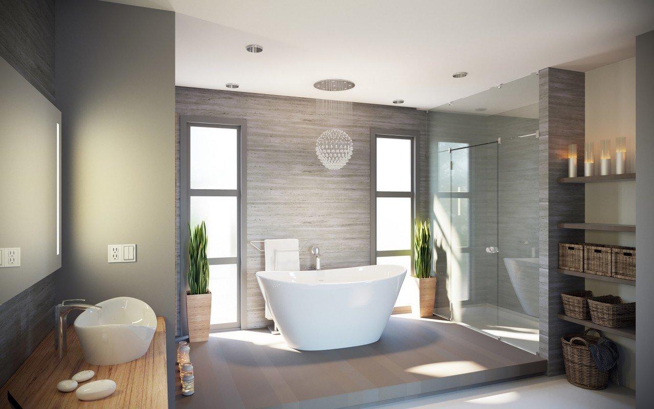Purescape 748g glossy la vasca da bagno freestanding - Vasca da bagno in pietra ...