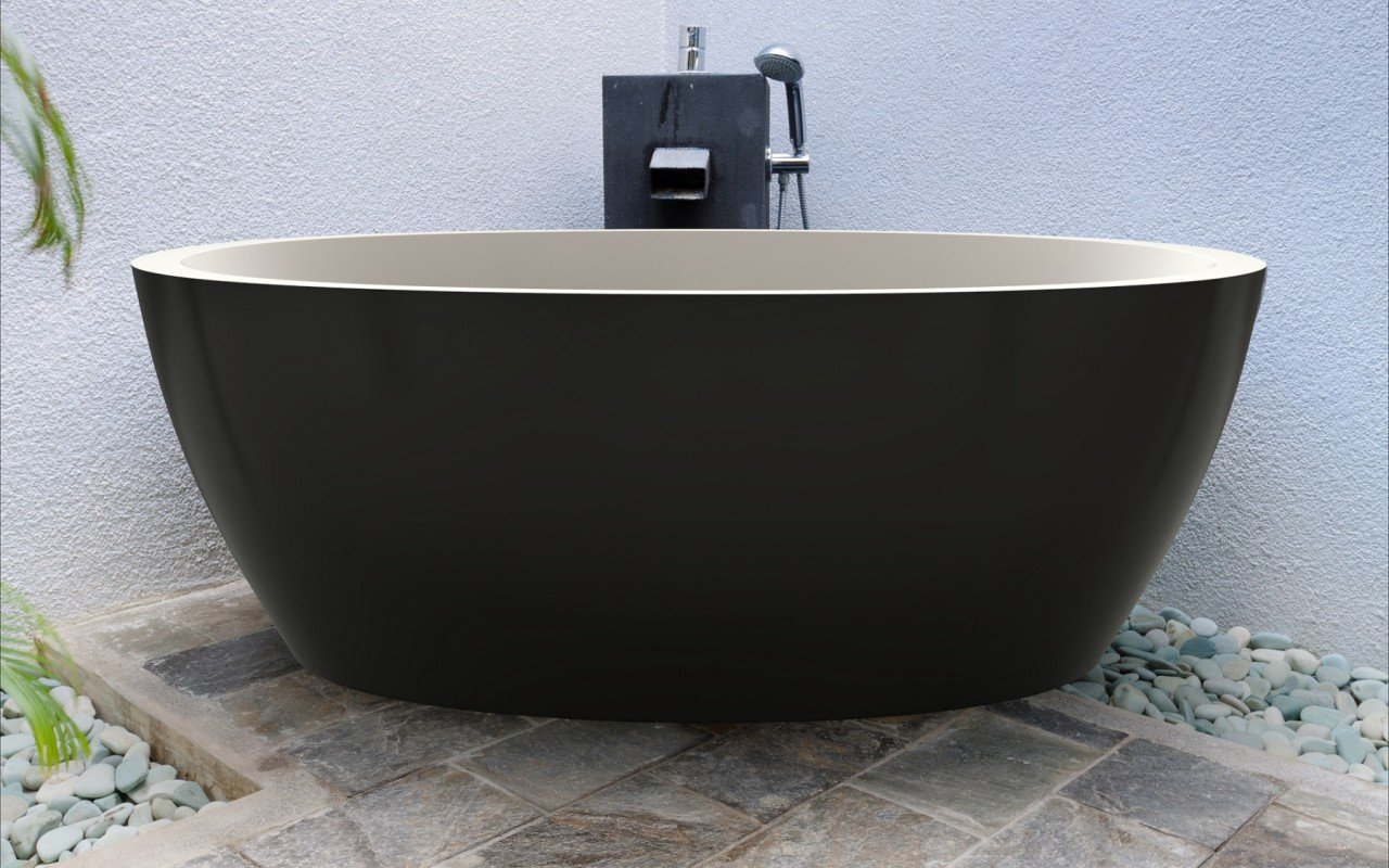 Sensuality Black Stone Bathtub (1) web