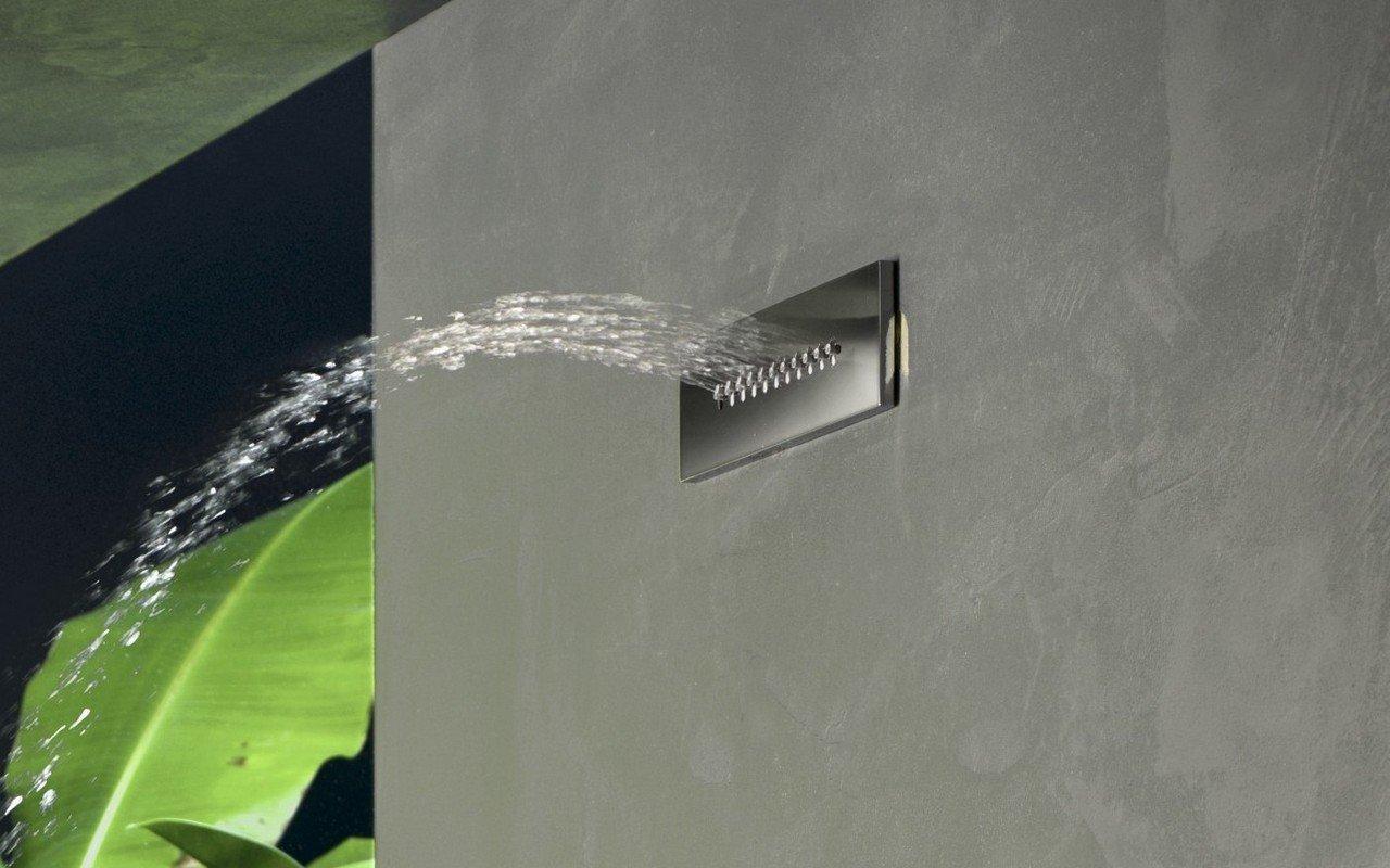 Altezza Minima Soffione Doccia.ᐈluxury Wave Rc 250 80 A Built In Onda Il Soffione Doccia Integrato A Muro Best Prices Aquatica