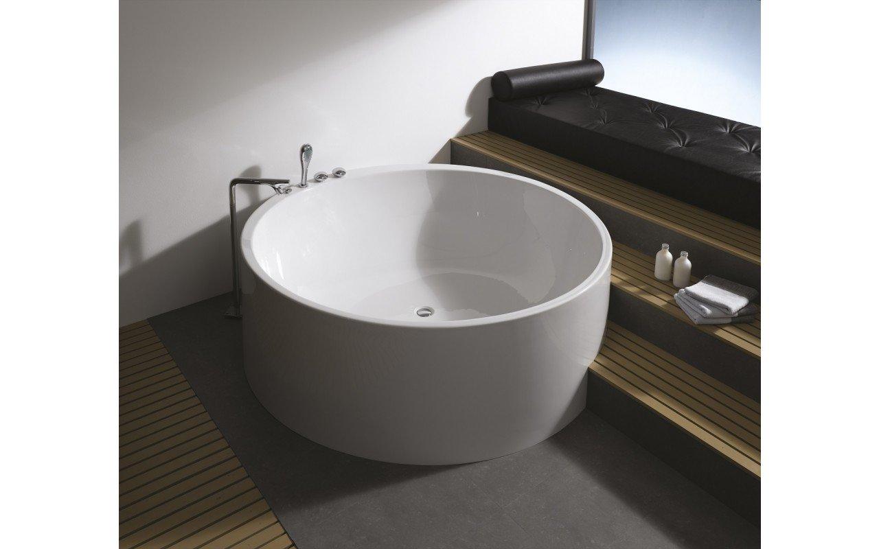 Imagination vasca da bagno freestanding aquatica in - Materiale vasca da bagno ...