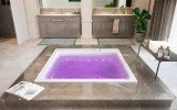 Aquatica Lacus Wht Drop In Relax Air Massage Bathtub pink (web)