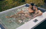 Aquatica Downtown Spa With Wooden Siding05