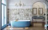 Coletta Jaffa Blue Frestanding Solid Surface Bathtub 01 (web)