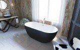 Corelia Black Wht Freestanding Stone Bathtub (2) (web)