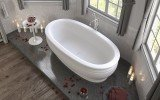 Olympian Roman Freestanding Solid Surface Bathtub 04 (web)