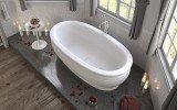 Olympian Roman Freestanding Solid Surface Bathtub 04 (web)