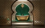 Purescape 171 Yellow Gold Wht Freestanding Solid Surface Bathtub 01 (web)