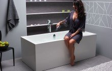 Continental Wht Freestanding Solid Surface Bathtub by Aquatica web (1)
