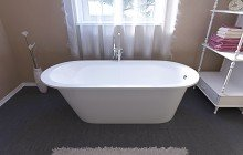 Aquatica Inflection A F Wht Freestanding Stone Bathtub (1)