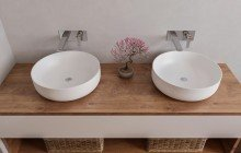 Small Round Vessel Sink picture № 5