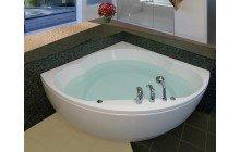 la vasca da bagno ad angolo aquatica in materiale acrilico 2622 in magazzino cleopatra corner acrylic bathtub by aquatica web 1
