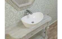 Small White Vessel Sink picture № 2
