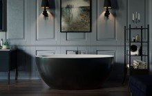 Sensuality mini f black wht freestanding stone bathtub by Aquatica 07 (web)