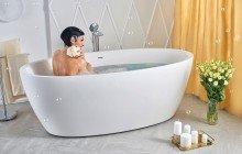 Sensuality wht freestanding oval solid surface bathtub by Aquatica 06 04 16––16 17 39 1 WEB