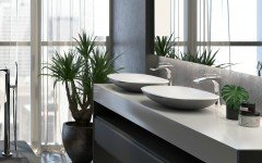 Aquatica coletta gunmetal wht solid surface sink 01 1