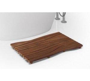 Onde waterproof iroko wood floor mat 03 (web)