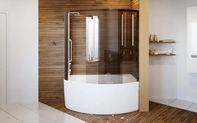 Anette A L Shower Tinted Curved Glass Shower Cabin 3 (web)