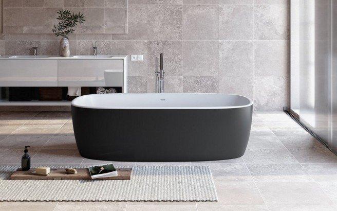 Aquatica Coletta Blck Wht Freestanding Solid Surface Bathtub 01 (web)
