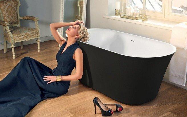 Tulip Blck Wht Freestanding Solid Surface Bathtub 01 (web)